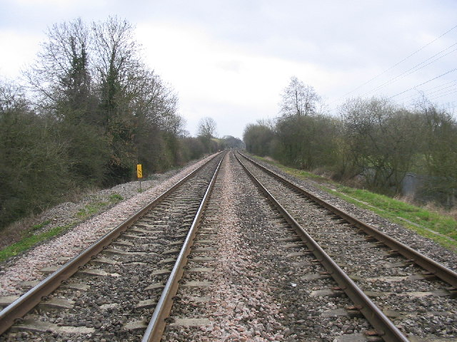 Railway, View Towards Reading