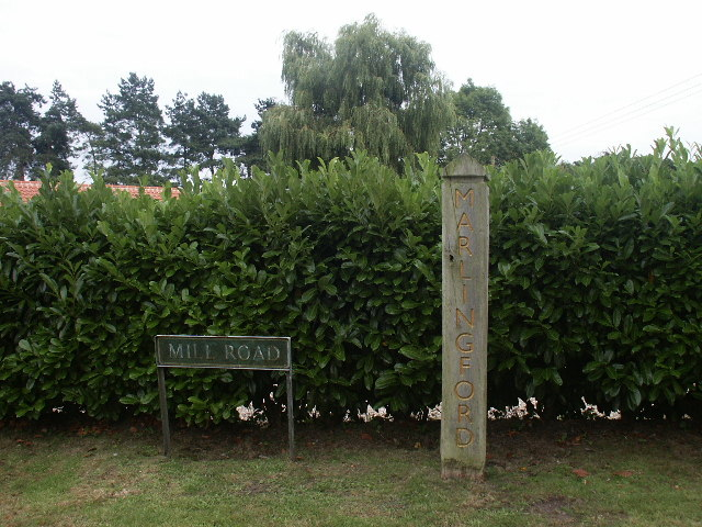 Village Sign, Marlingford
