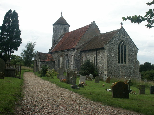 St Mary's and St Walstan's Church, Bawburgh