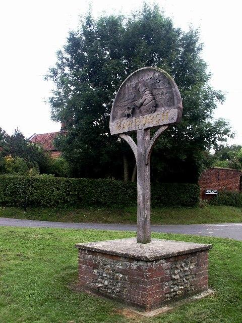 Village Sign, Bawburgh
