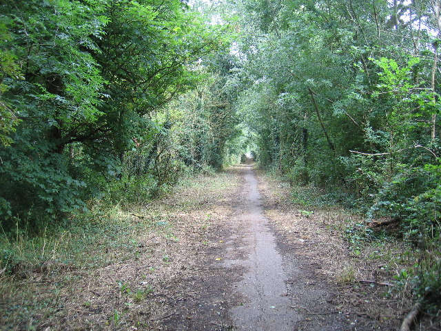 Public Bridleway to Thickthorn Wood and Ashow