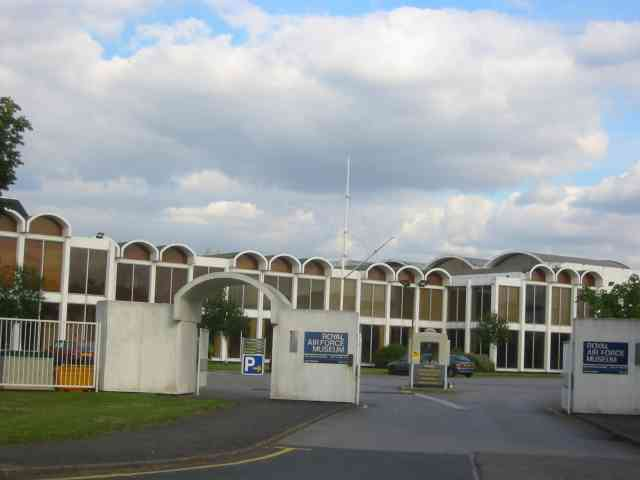 Entrance to the RAF Museum at Hendon