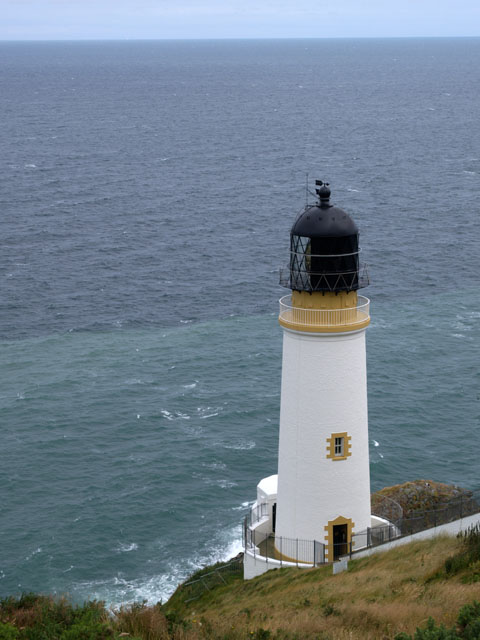 Maughold Head lighthouse.   Isle of Man.