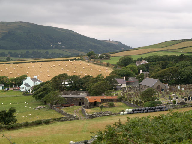 Maughold Village. Isle of Man.