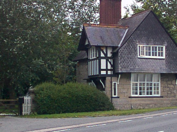 House at entrance to Kinmel Estates