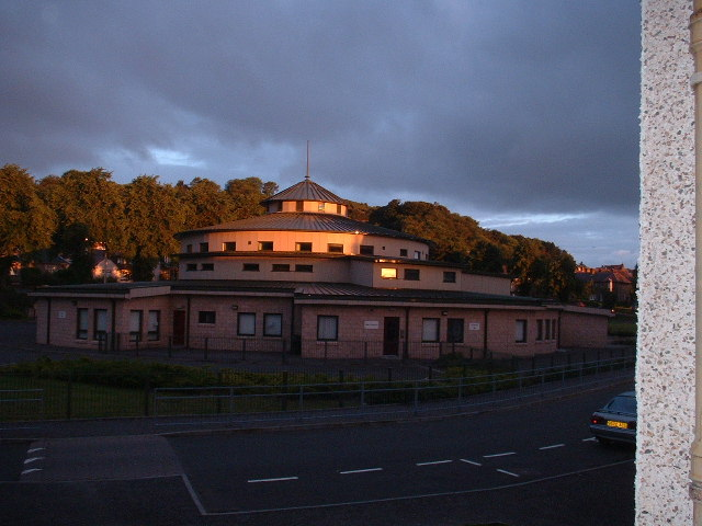 The school at dawn