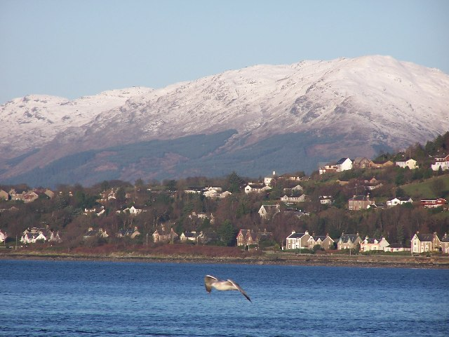 Kilcreggan in winter