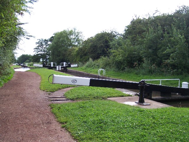 Lock 57, Worcester to Birmingham Canal, near Tylers Lock