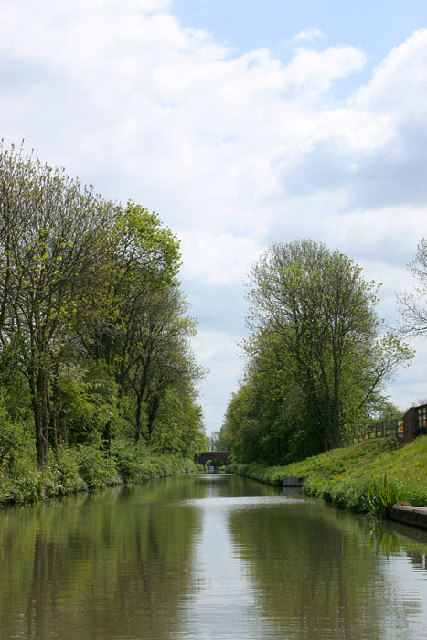 The Northern Oxford Canal at Cathiron