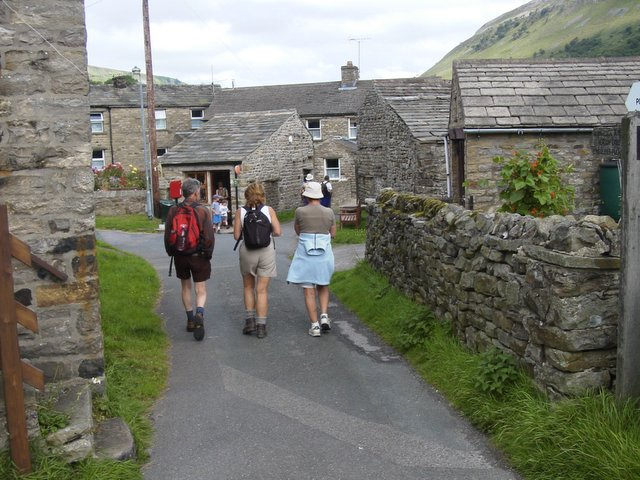 Muker village centre