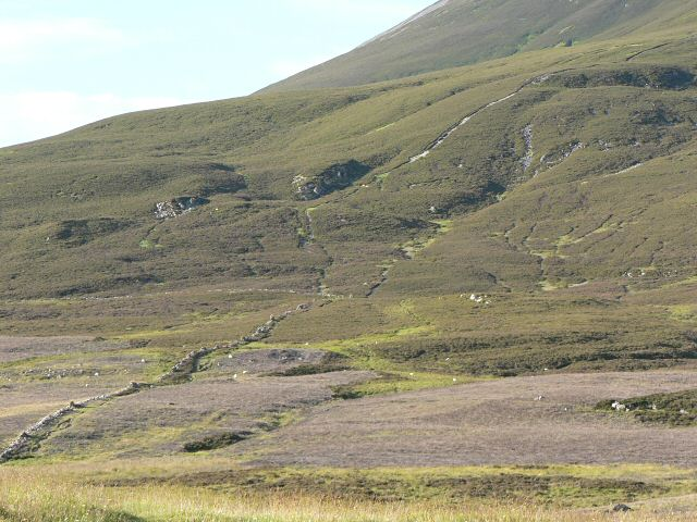 South west slope of Carn Liath