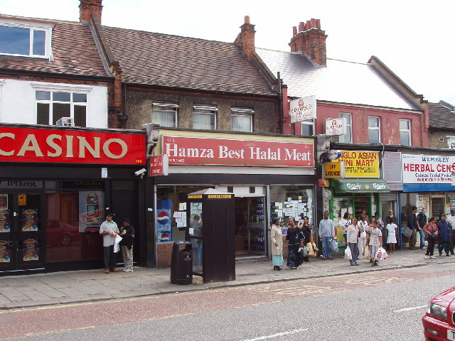 Shops in Wembley High Road