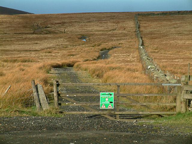 East Mountain Gate - Isle of Man