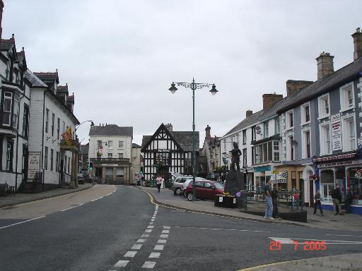 Town Centre Corwen