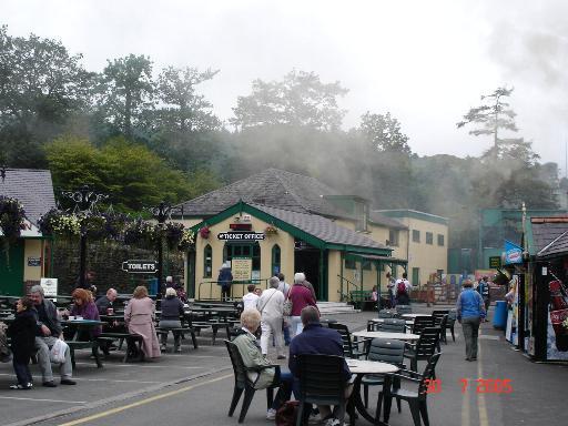 Llanberis mountain railway station