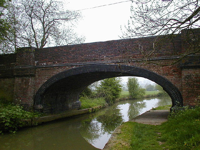 Bridge 57 on the Grand Union Canal