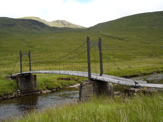 Bridge over River Affric at Alltbeithe