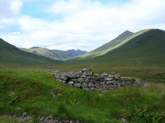 Ruin on Clunie Path