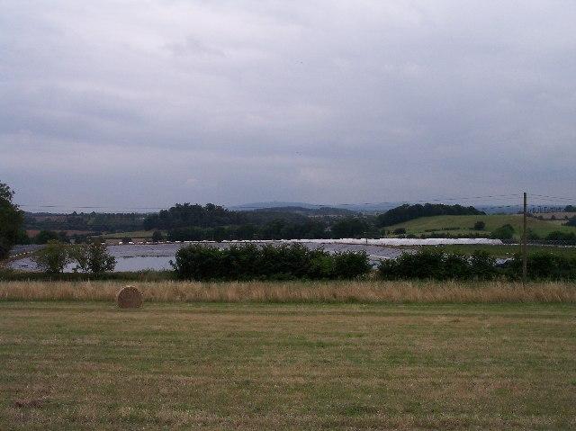 New man-made reservoir/lake