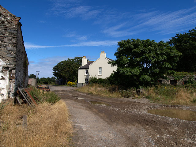 Guilcaugh Farm .    Isle of Man.
