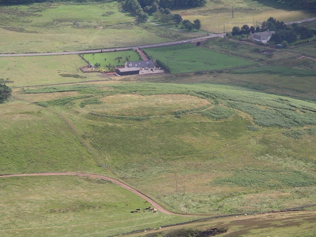 Site of hill fort, Eight Mile burn