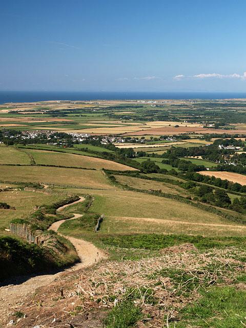 Slieu Curn.   Isle of Man