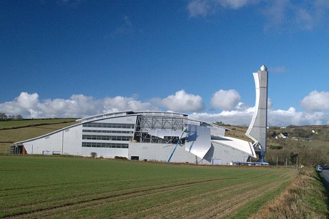 Incinerator.  Isle of Man.