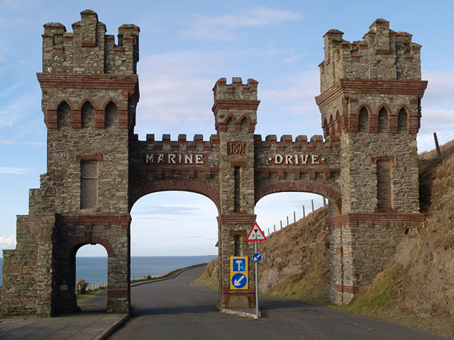 Gate - Marine Drive.   Isle of Man.