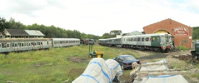 Swansea Vale Rail Yard