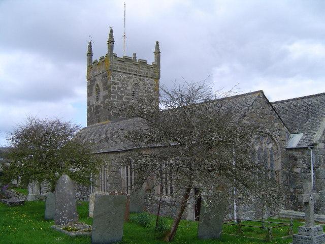 The Church of St Mellanus Mullion