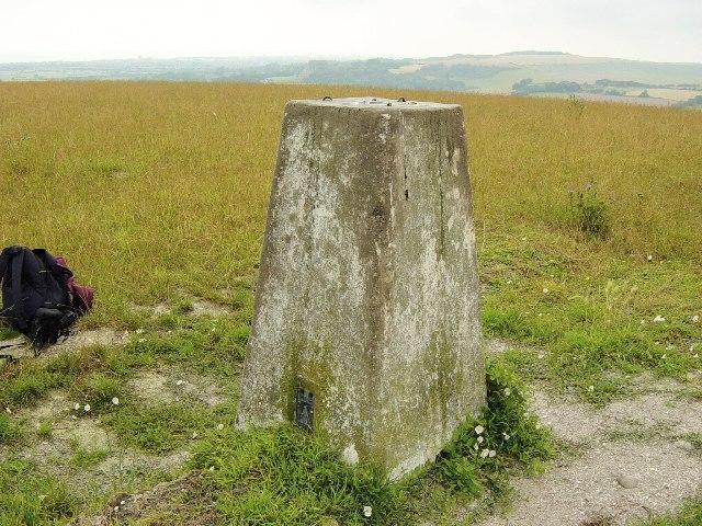 Erringham Hill Trig Point