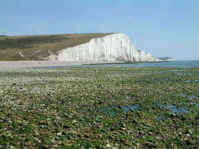 Cliff End, E side of Cuckmere Haven