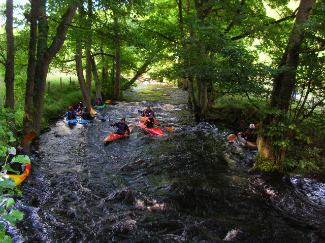 Washburn during reservoir release