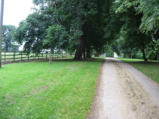 Entrance to Hall Farm, Long Clawson