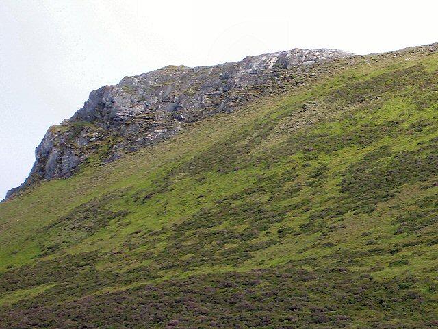 Crag on Sron na h-Innearach