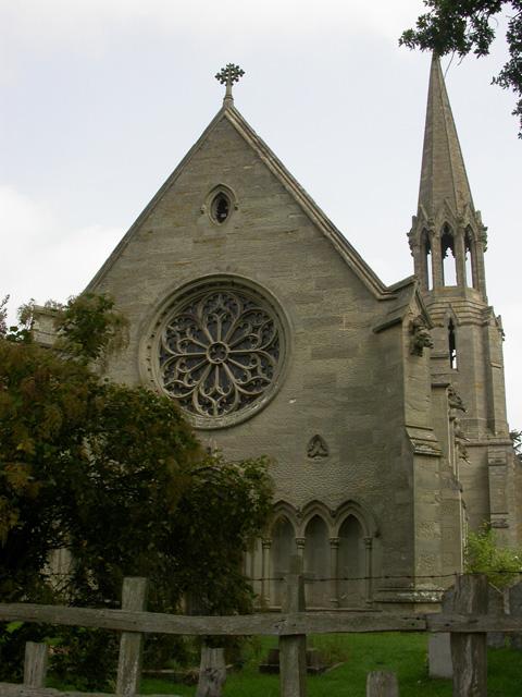 Rose Window, St Leonards Church