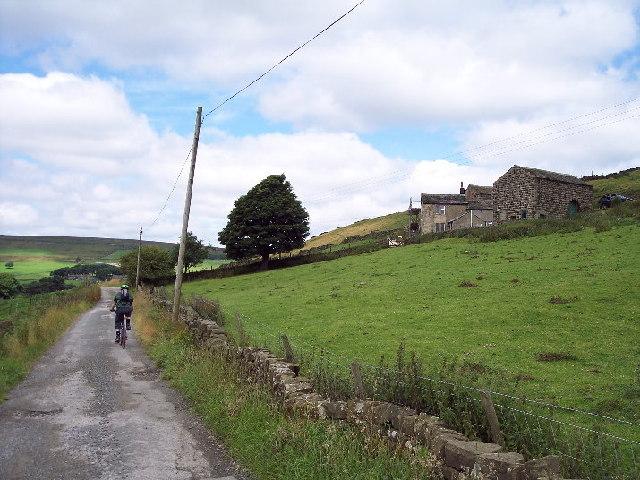 Bridleway, Lady Royd Farm