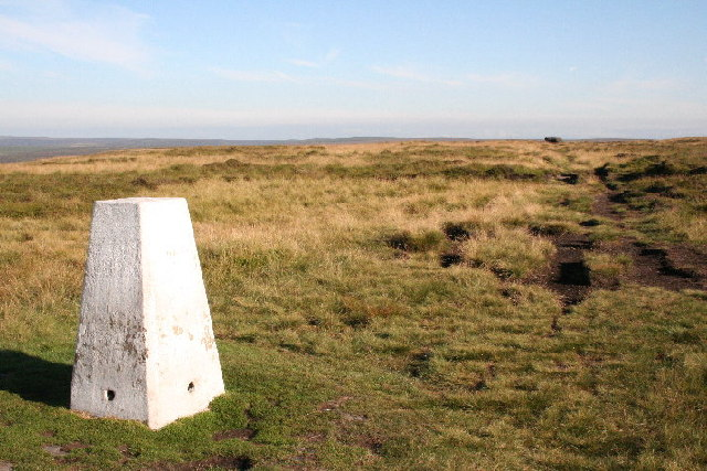 Trig Point, High Brown Knoll