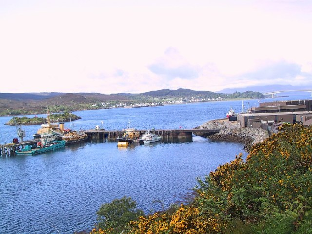 Pier at Kyle of Lochalsh