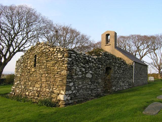 Old Lonan (St Adamnan's) church