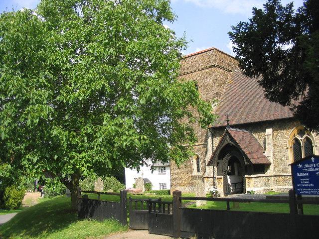 St. Mary's Church, Stapleford Abbotts, Essex