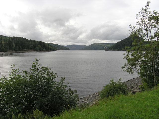 Llyn Efyrnwy reservoir