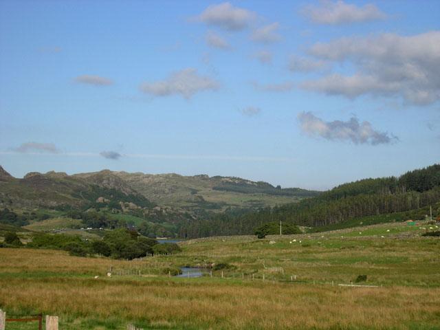 View towards Capel Curig, Snowdonia