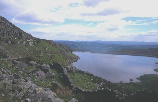 Reservoir on Moel Siabod