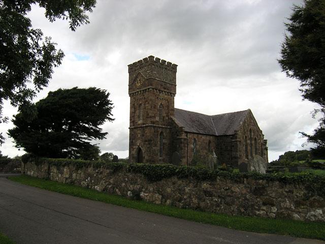 Church near Brynsiencyn, Anglesey