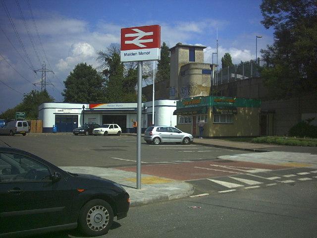 Malden Manor Station, Old Malden.