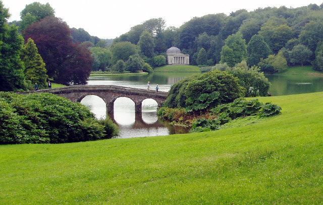 Garden Lake at Stourhead