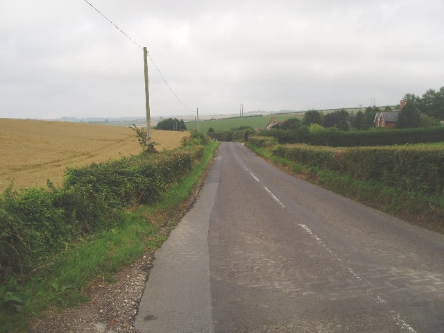 Farmland near Normandy farm