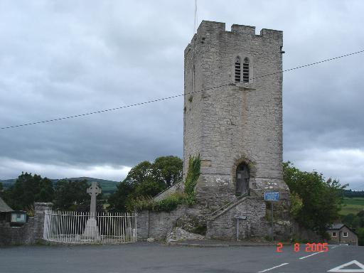 Henllan Parish Church Tower