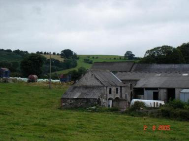 Farm buildings at Groes